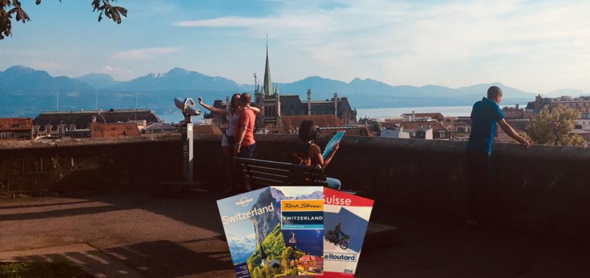Lausanne vue par les guides de voyage