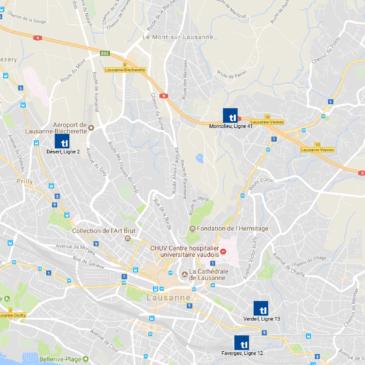 Terminus des tl : voyages aux confins de Lausanne