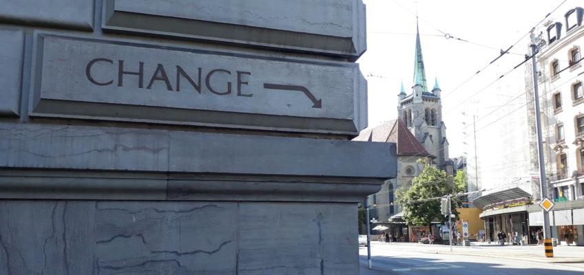 Un regard sur Lausanne : Change!