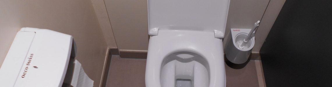Mésaventure dans les toilettes de Manor à Lausanne