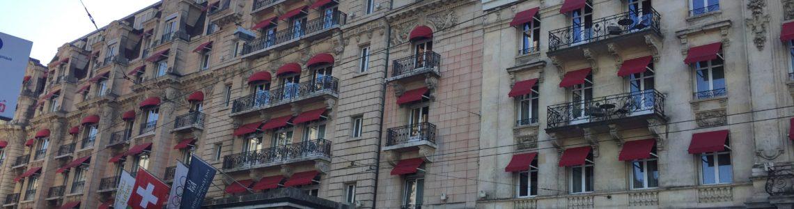 Mon séjour au Lausanne Palace