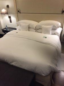 Quand on va au Lausanne Palace juste pour dormir.
