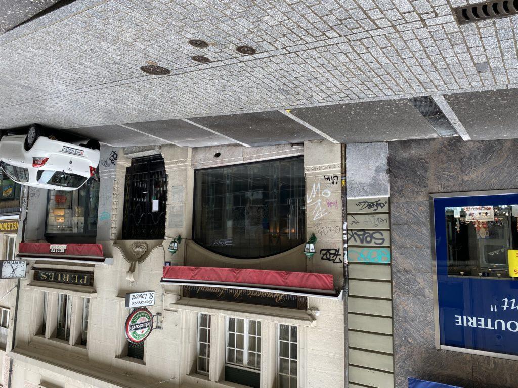 Brasserie de Saint-Laurent, bonne adresse en face de Manor.