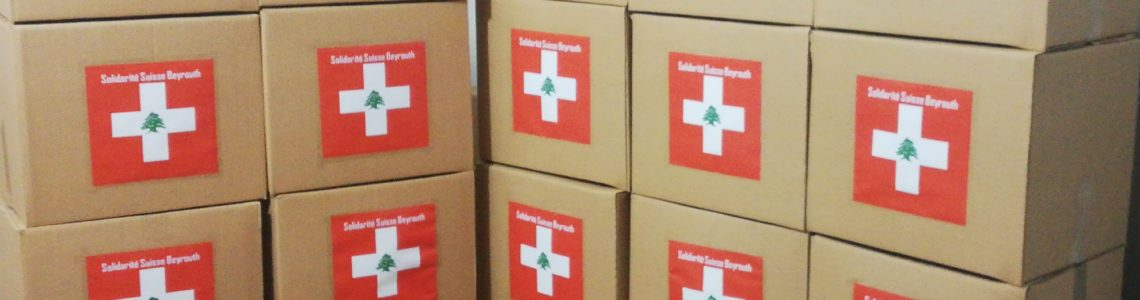 Solidarité Suisse Beyrouth : Lausanne au chevet de Beyrouth