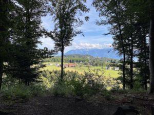 Depuis le sentier Burki, quelques beaux points de vue...