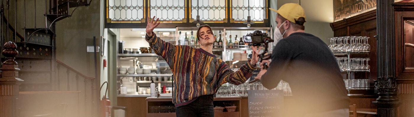10 restaurants et 10 artistes lausannois forment des duos en vidéo; bienvenue sur «Une bouffée d'art»